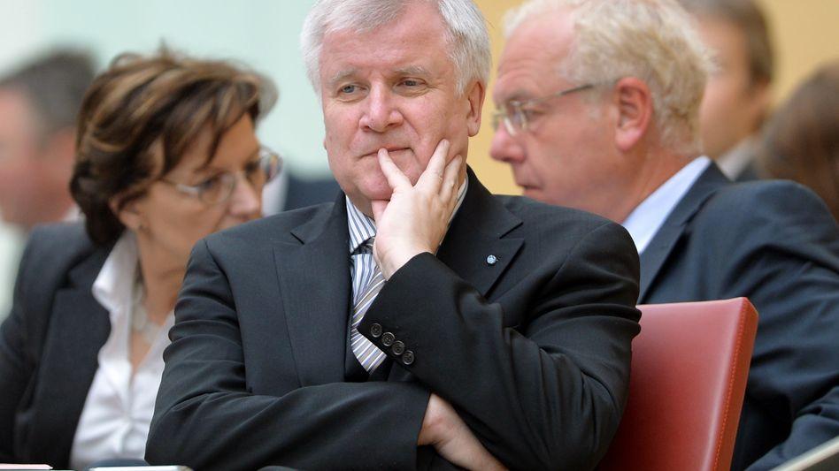 "Horst Seehofer (im Bayerischen Landtag): ""Schüttelschorsch"" musste gehen"