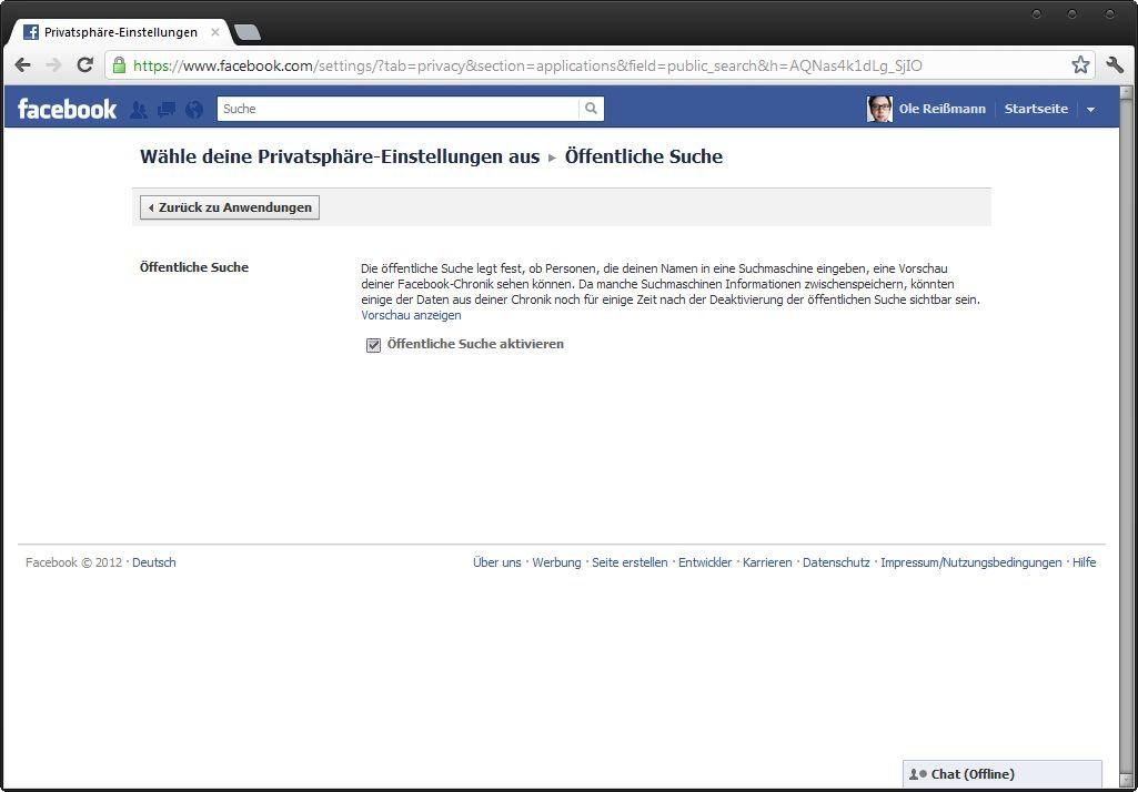 NUR ALS ZITAT Screenshot Facebook-Schufa / pp15