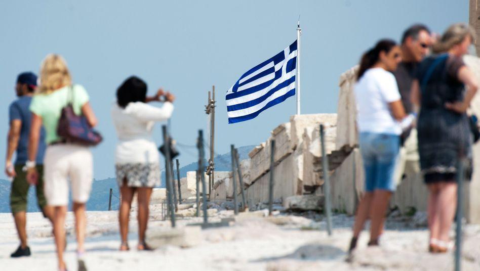 Touristen auf der Akropolis: So viele Menschen wie nie besuchten Griechenland