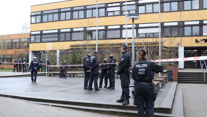 Lünen bei Dortmund: Tatort Schule