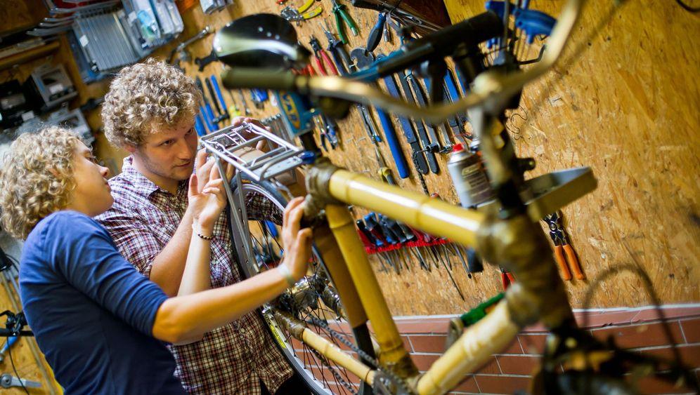 Bambusrad-Aktion: Bike für die Welt