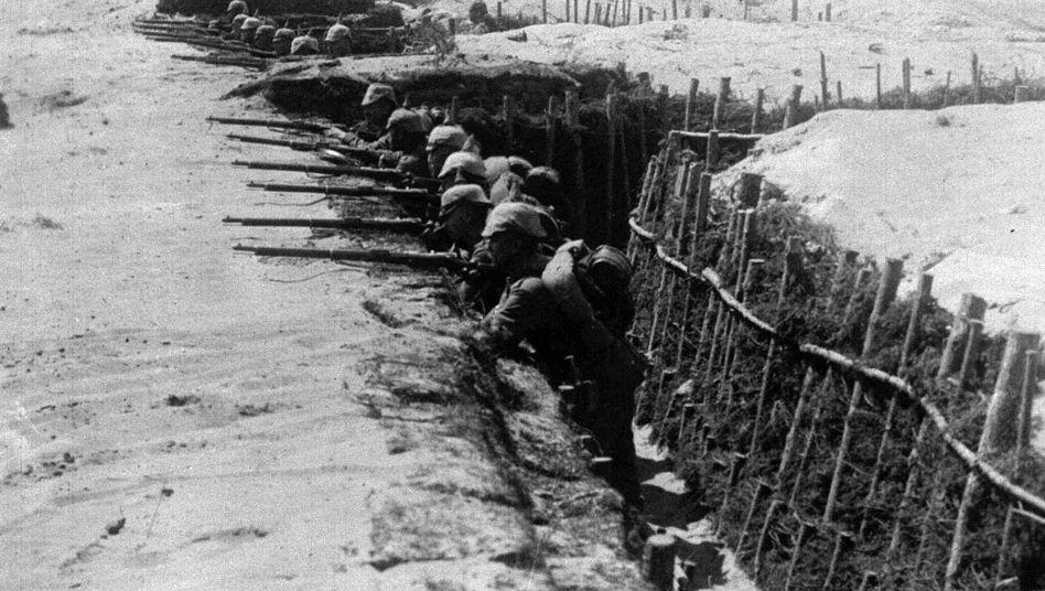 """Deutsche Soldaten im Ersten Weltkrieg: """"Zu nah, zu schrecklich"""""""
