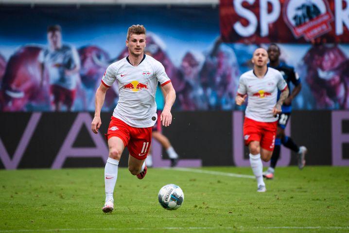 Noch ist Timo Werner (l.) Spieler von RB Leipzig