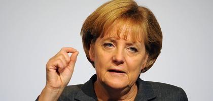 Bundeskanzlerin Merkel: Düstere Aussichten für 2009