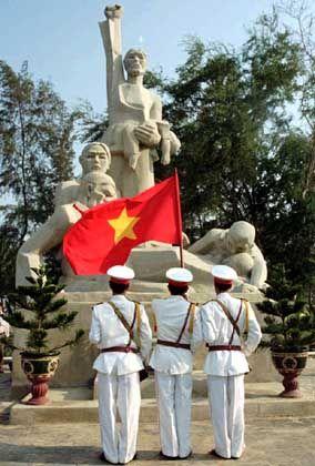 Memorial in My Lai (Archivbild): Symbol eines schmutzigen Krieges