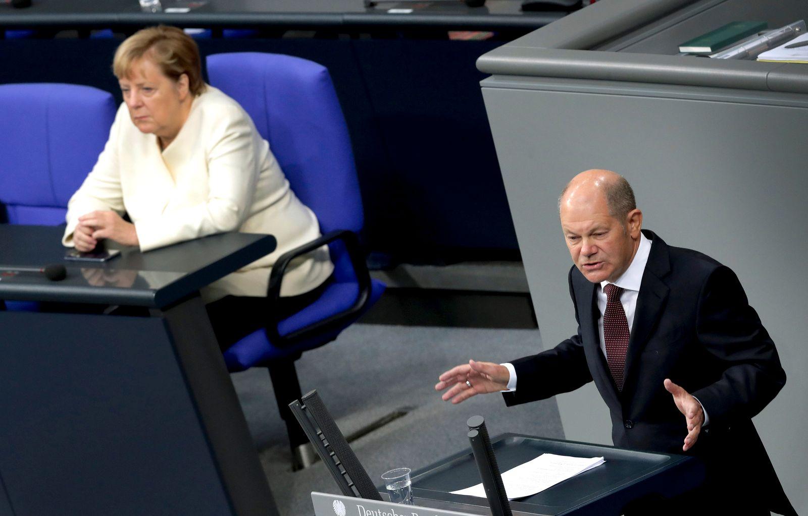 Germany Parliament Budget