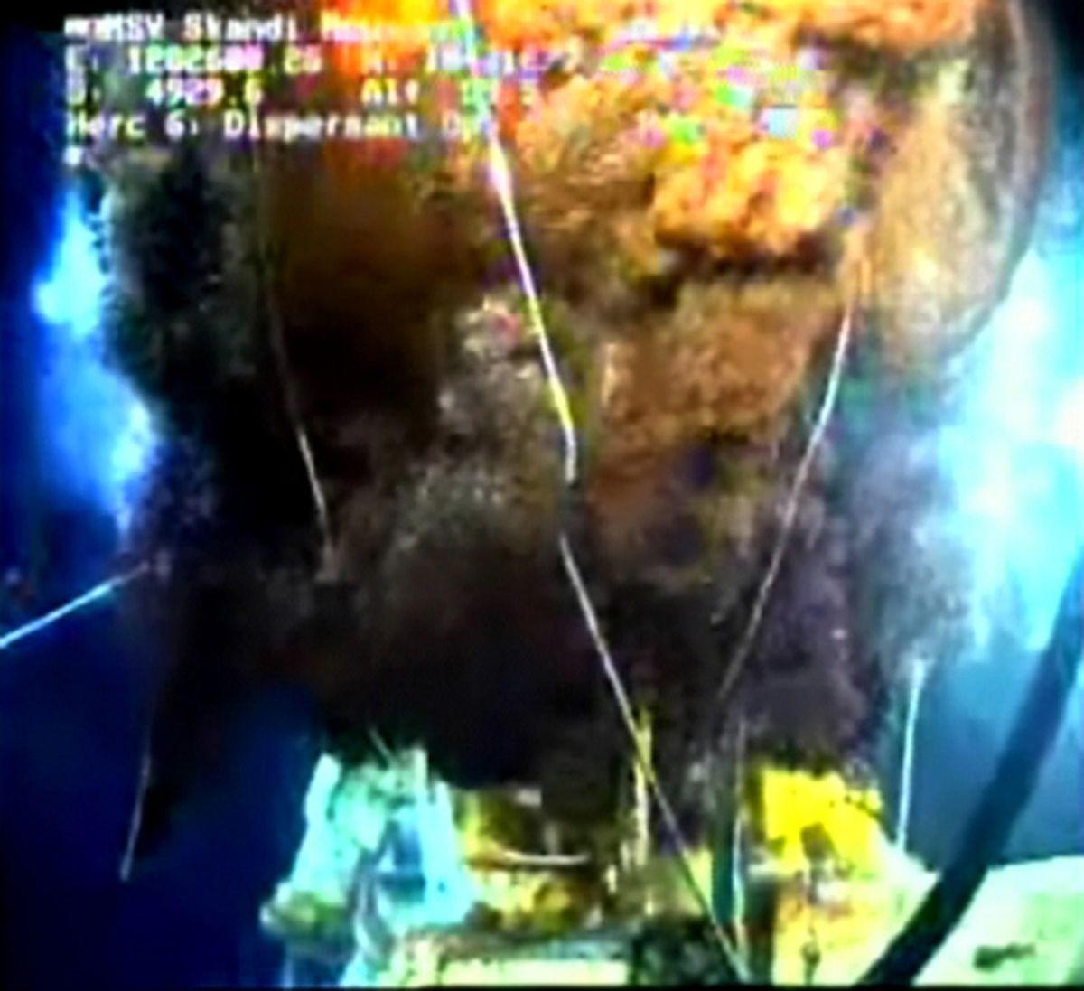 EINMALIGE VERWENDUNG Trichter / Ölpest / Deepwater Horizon