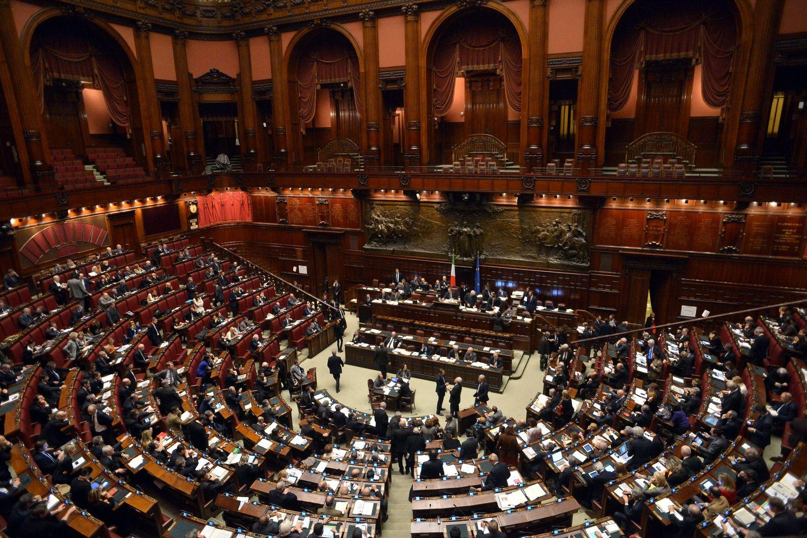 ITALY-POLITICS-LOWER HOUSE-VOTE