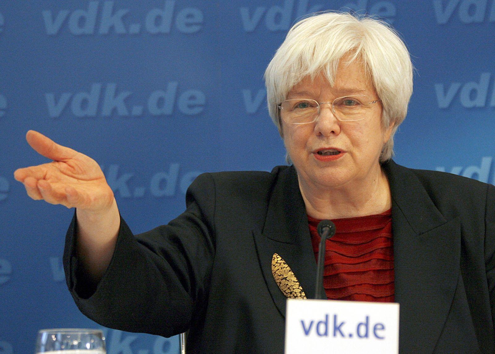 Präsidentin des VdK - Mascher