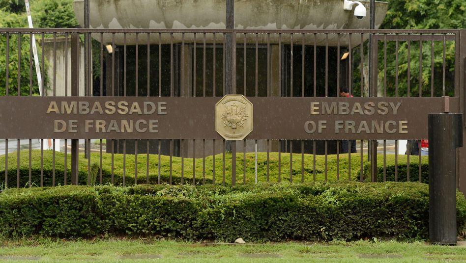 Frankreichs Botschaft in Washington: Verwerfungen durch NSA-Skandal