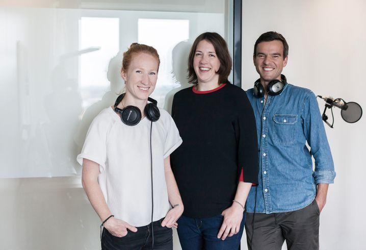 Teresa Sickert, Judith Horchert und Christoph Stockburger (v.l.n.r.).