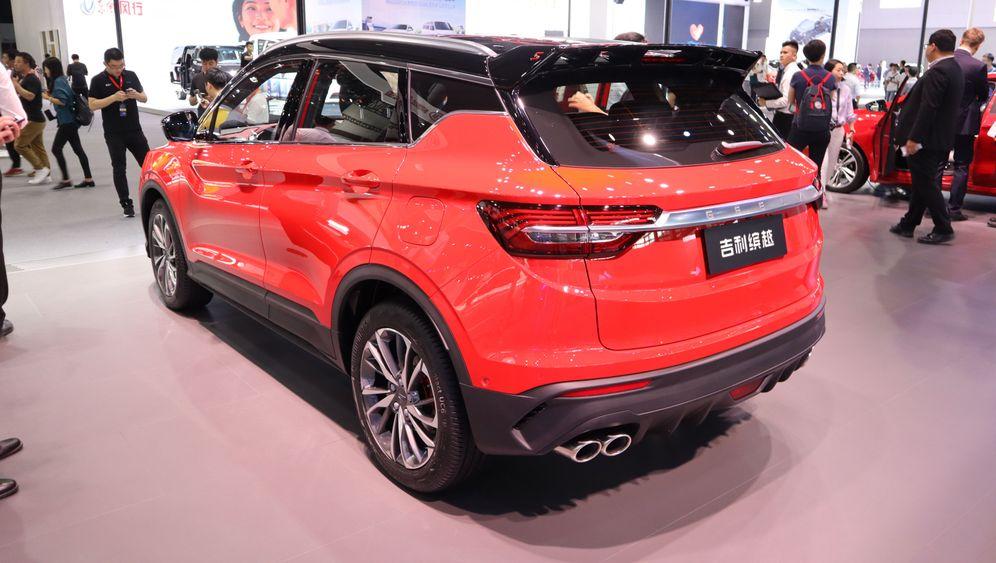 Autoshow in Guangzhou: Mit diesen Modellen greift China an