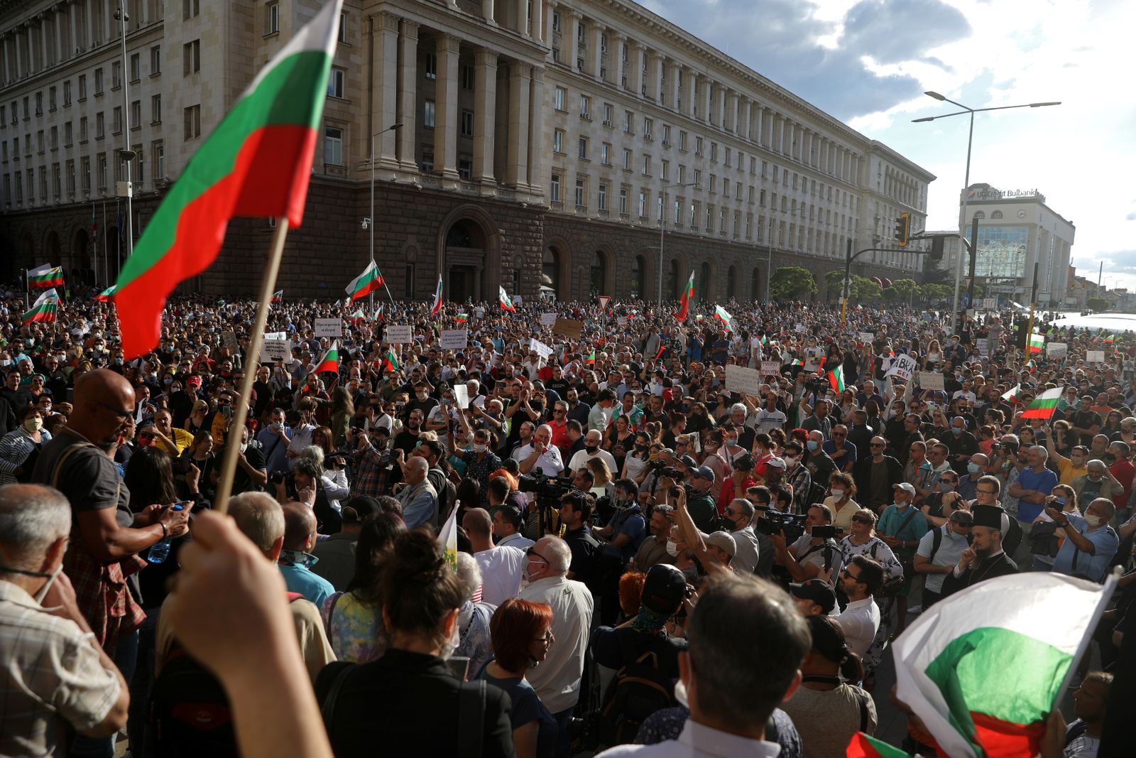 Anti-government protest in Sofia