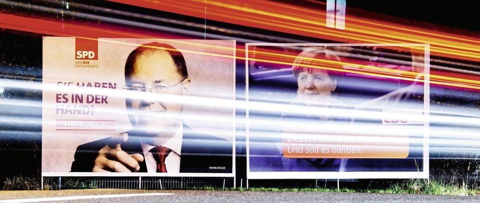 Wahlplakate 2013