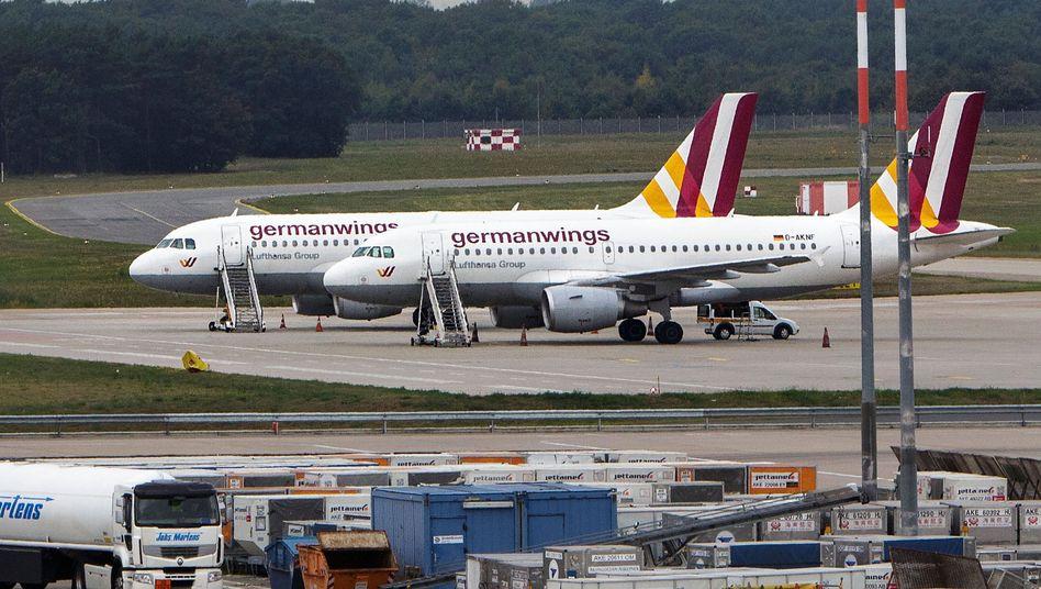 Germanwings-Flugzeuge