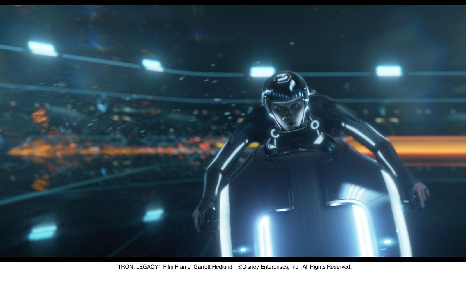 EINMALIGE VERWENDUNG Film / Tron Legacy