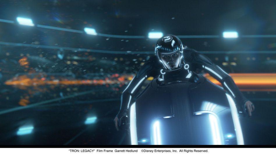 """Futter für die Nerd-Nostalgie: Szene aus """"Tron:Legacy"""""""