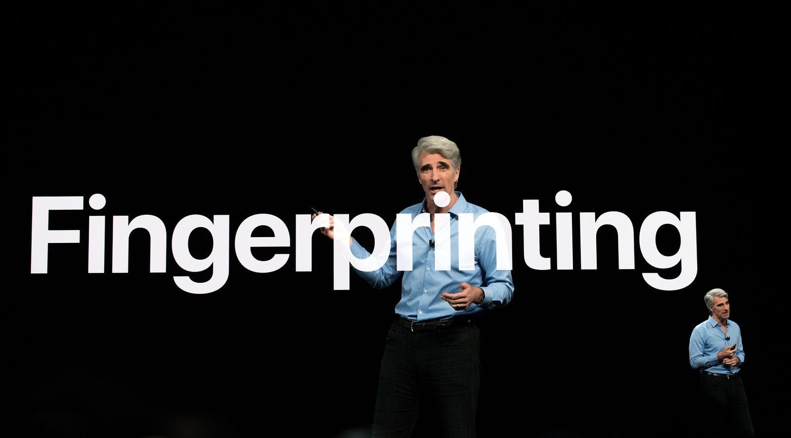 Craig Federighi WWDC