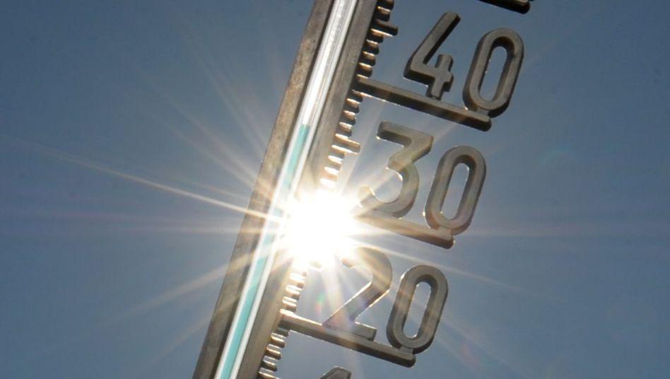 Temperaturen im Sommer