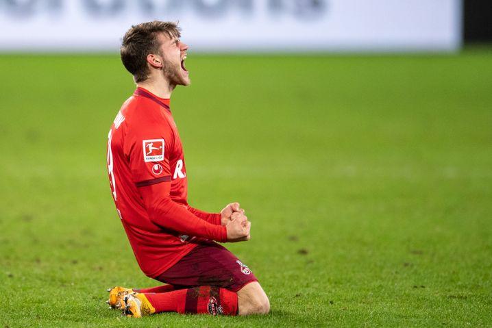 Jan Thielmann erzielte in der Nachspielzeit den Siegtreffer