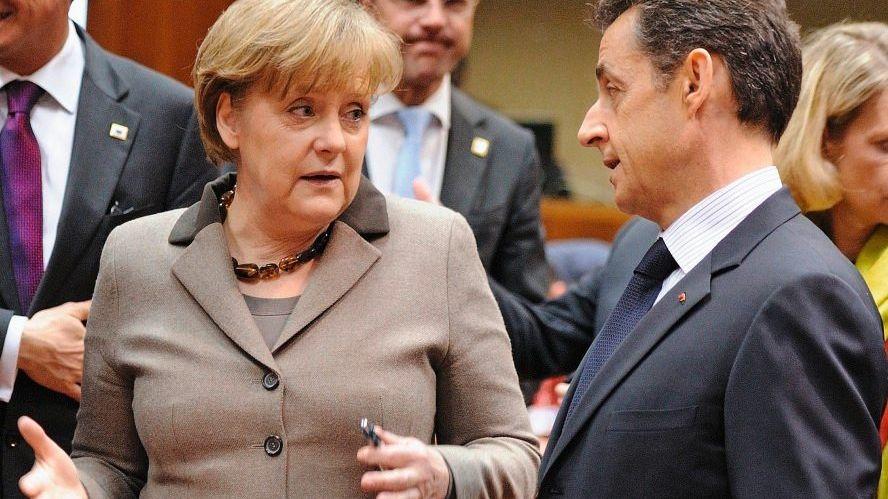 Kanzlerin Merkel, Widersacher Sarkozy(*1): »Warum sollen wir in Libyen eingreifen, wenn wir anderswo nicht eingreifen?«
