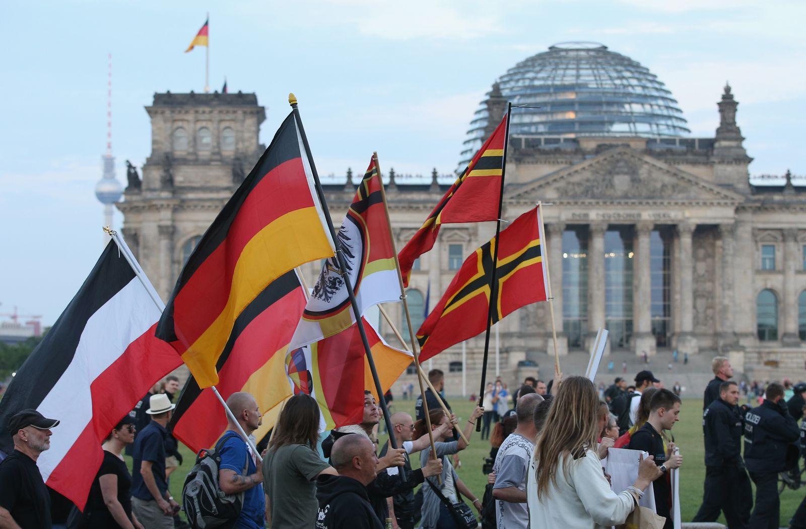 Pegida Supporters March In Berlin