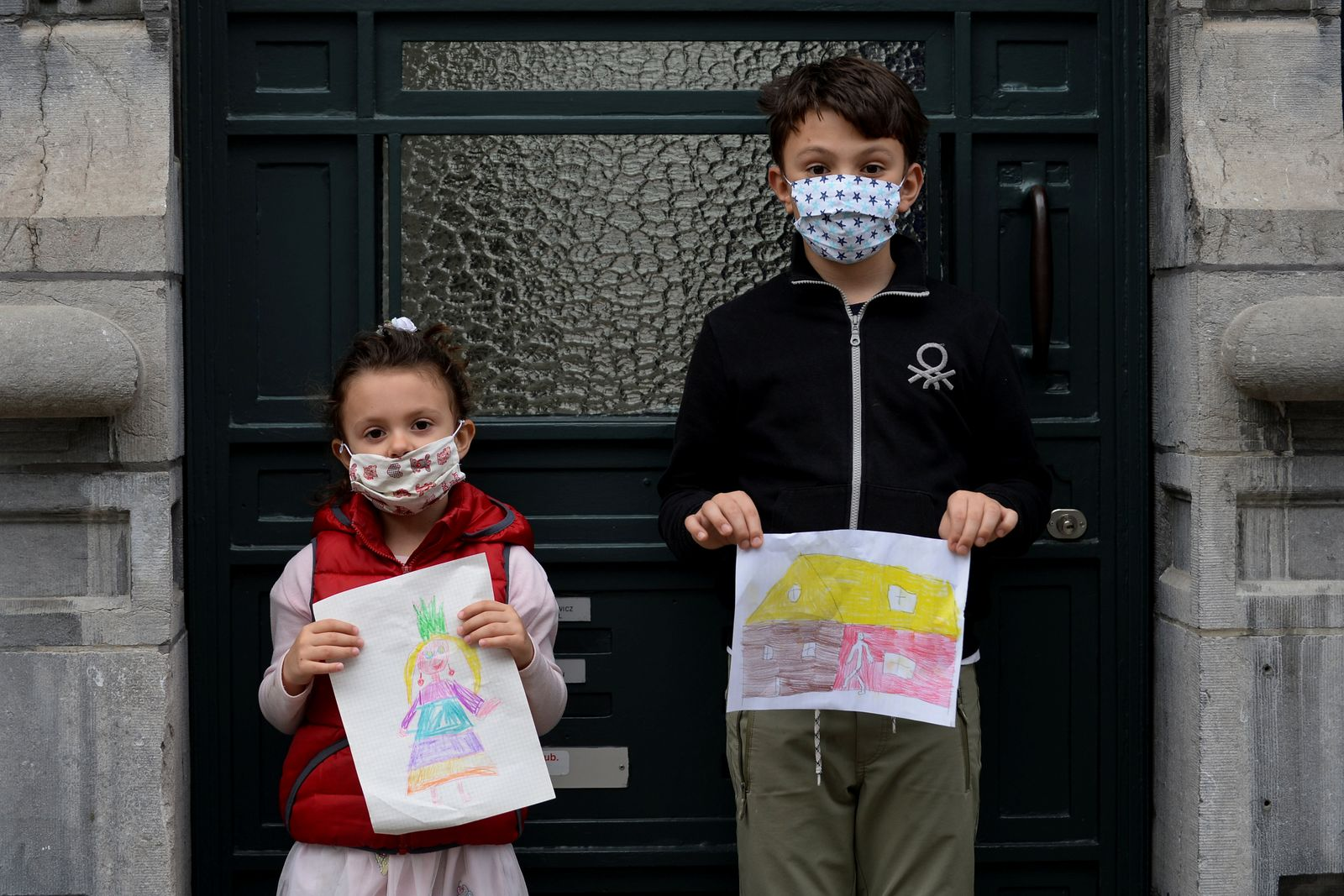 The Wider Image: Children's drawings from lockdown show the world what they miss most