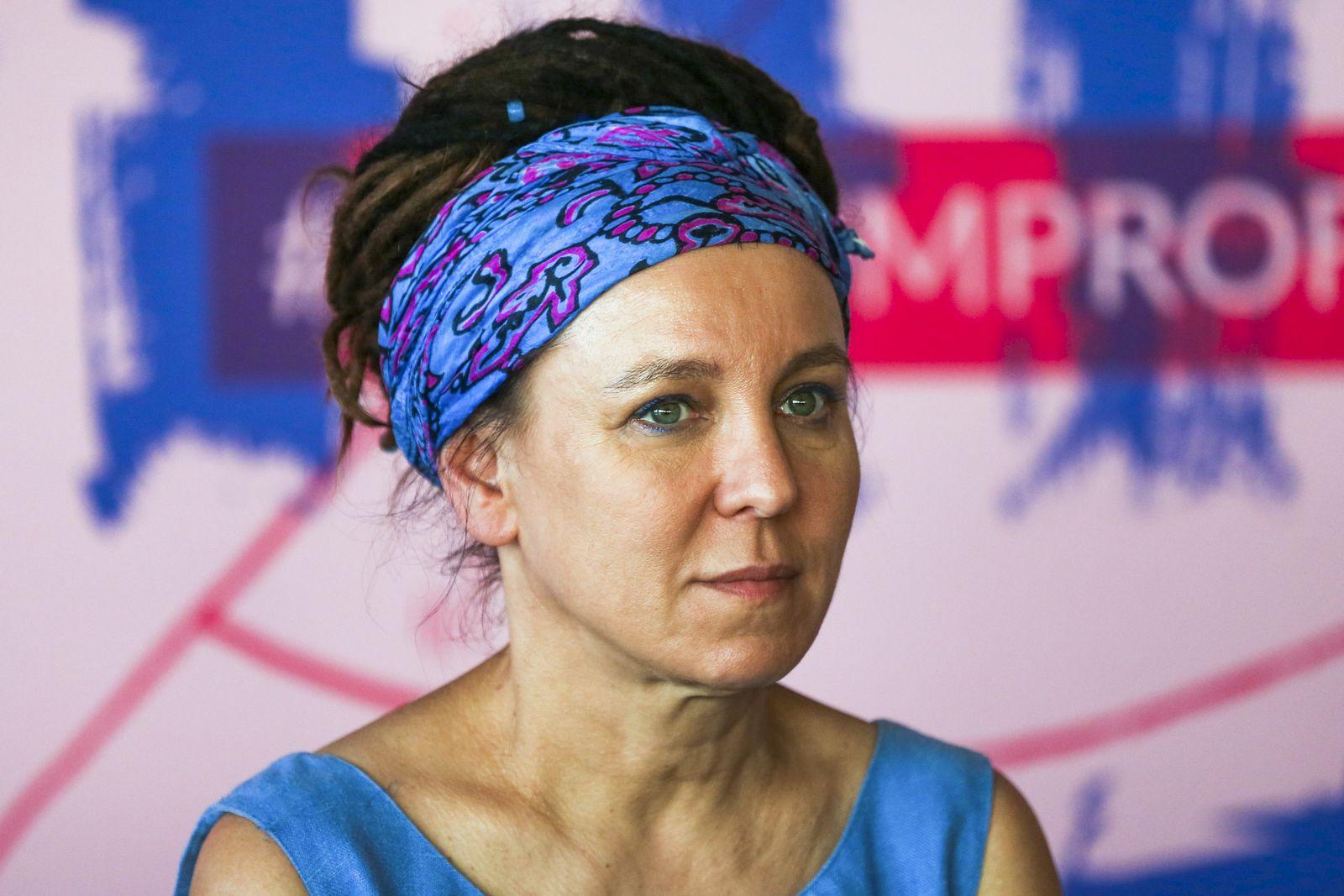 EINMALIGE VERWENDUNG Nobelpreis/ Olga Tokarczuk