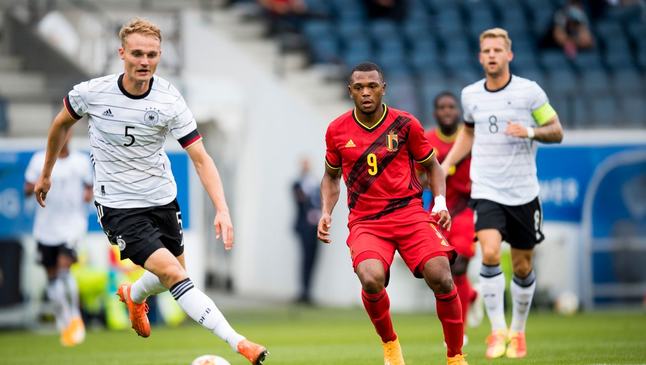 U21 Deutschland Belgien