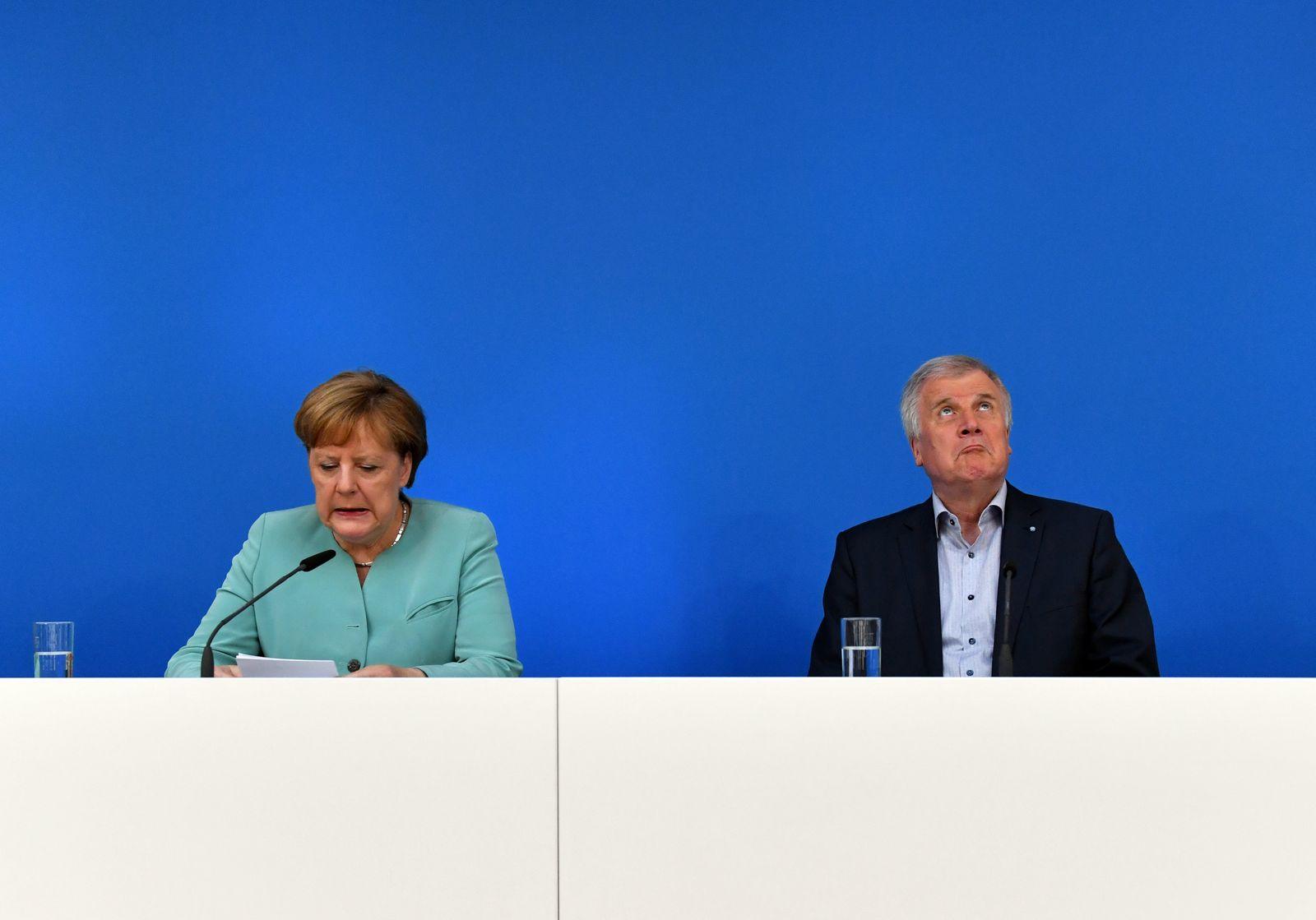 Angela Merkel / Horst Seehofer