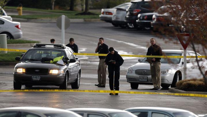 """Tote in Kansas: """"Teuflischer Akt der Gewalt"""""""