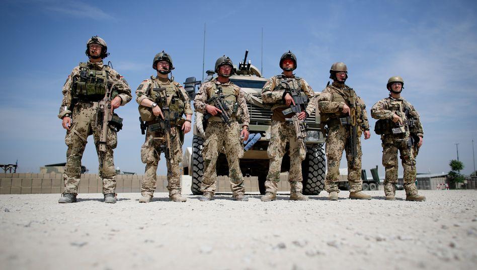 Bundeswehrsoldaten in Afghanistan (Archiv)