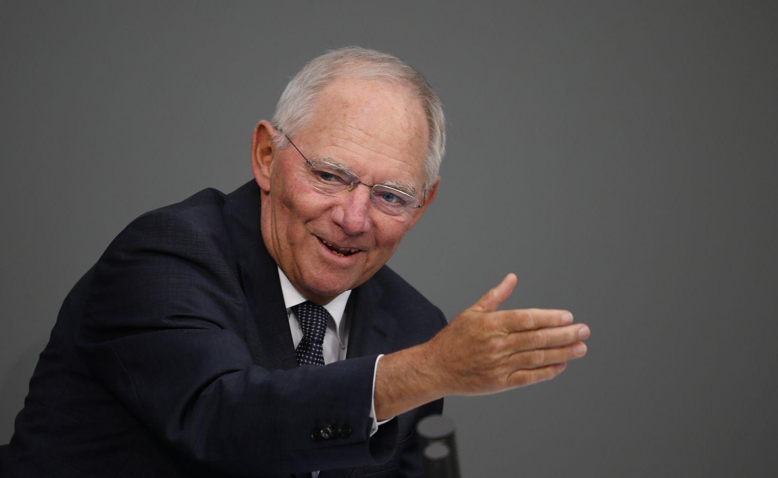 Bundestag / schäuble