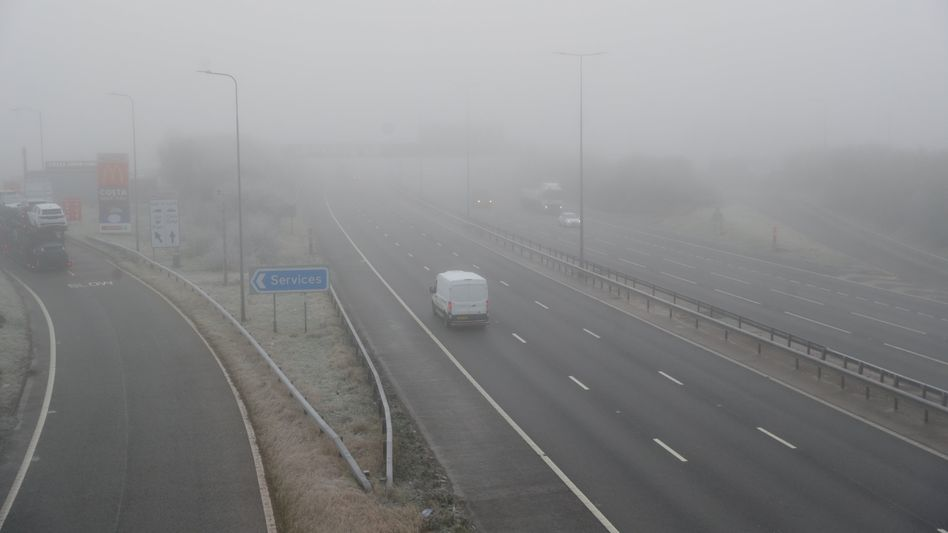 Leere Autobahn M5 bei Birmingham: »Sehr unbeliebt«