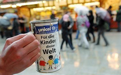 Unicef-Büchse: Saftige Provisionen für Spendensammler