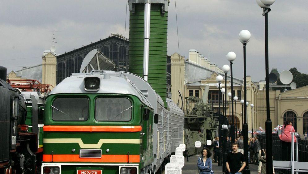 Russland: Eisenbahn als Startrampe