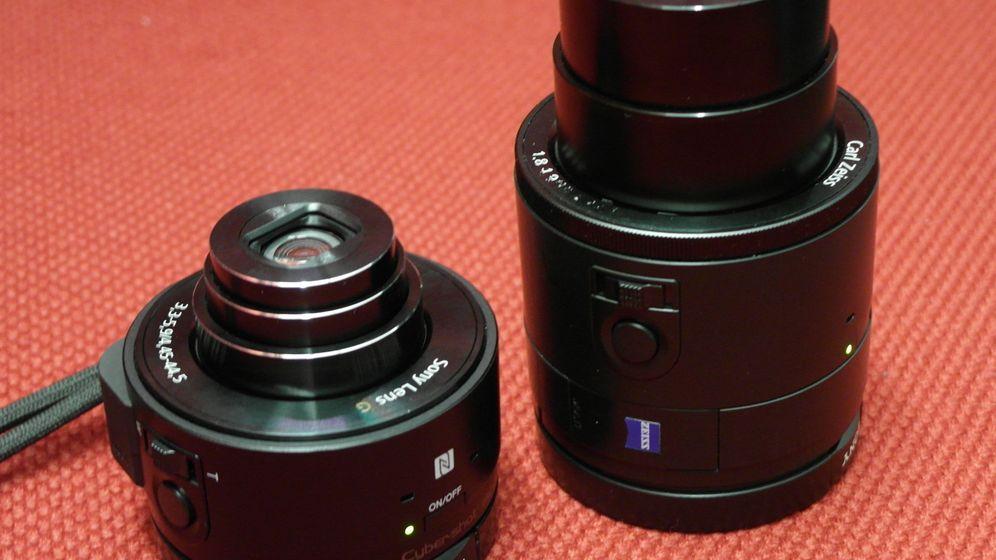Cybershot QX10 und QX100: Das sind Sonys Aufsteckkameras fürs Handy