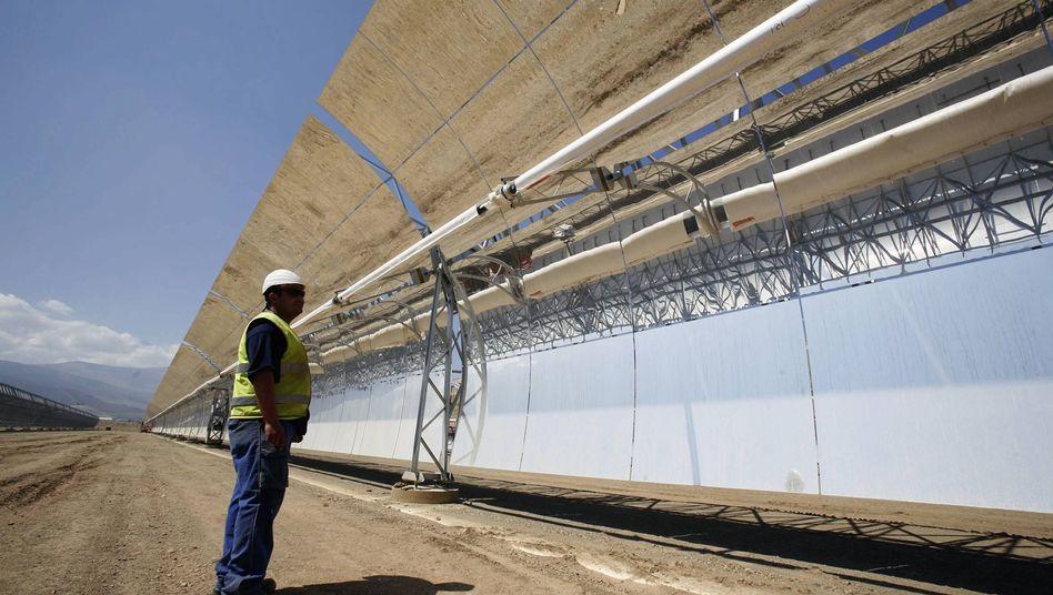 Solarkraftwerk der Solar Millennium AG: Wirkungsvolle Maßnahmen zum Klimaschutz