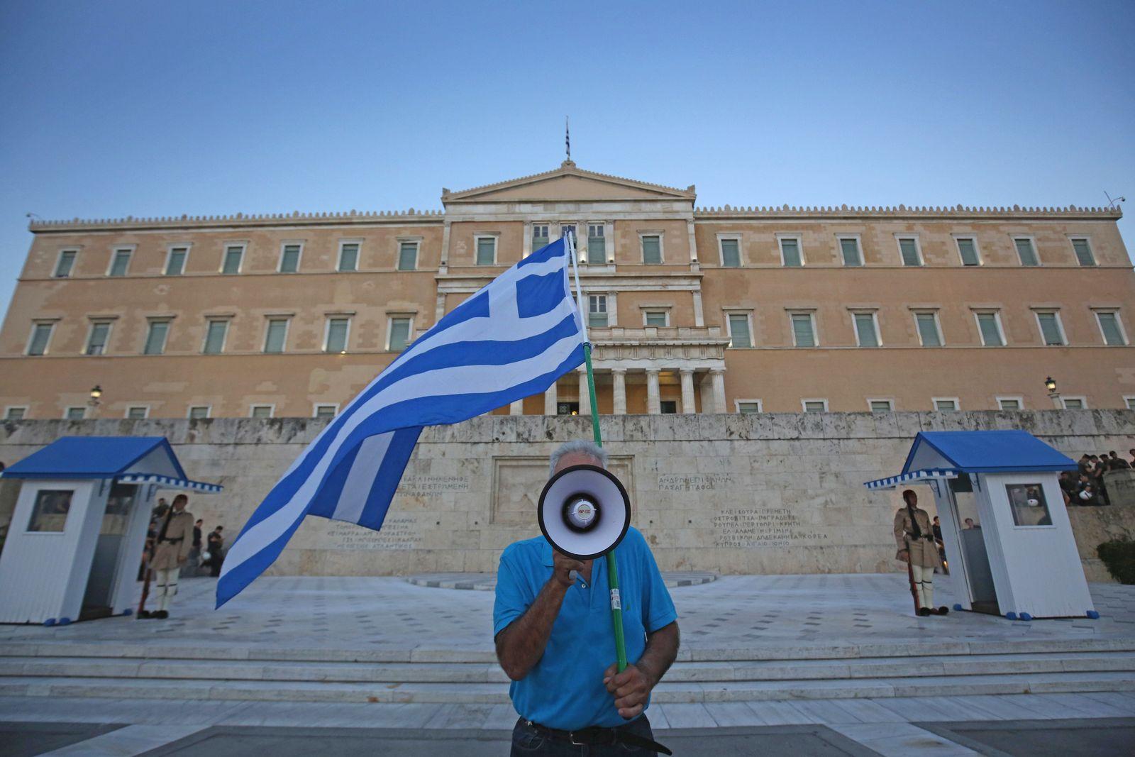 Griechenland/ Megafon