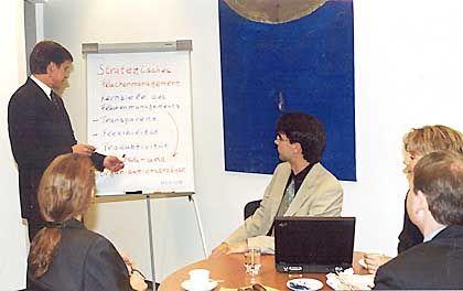 Personalmanager: Experten für den Arbeitsablauf in Unternehmen