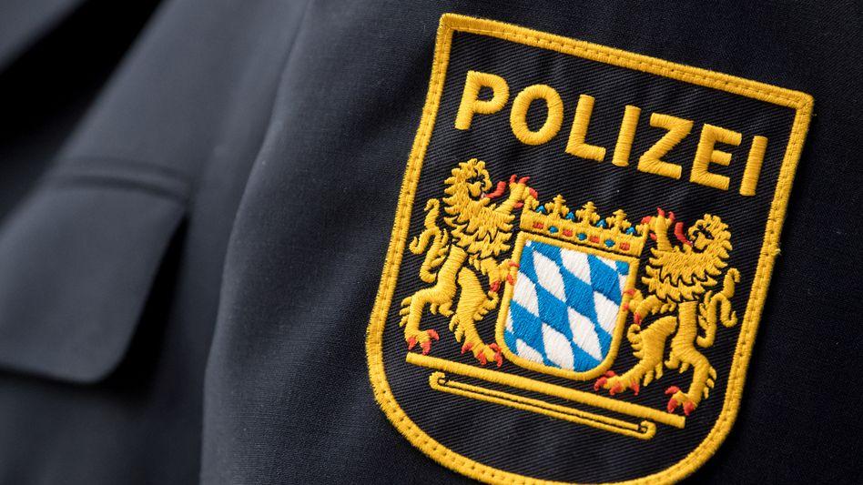 Das Wappen der bayerischen Polizei(Symbolbild)