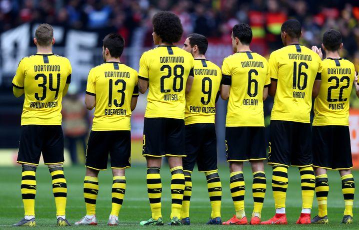 Spieler von Borussia Dortmund
