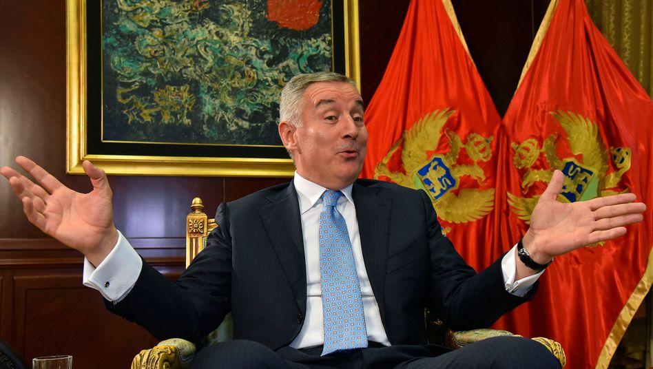Machtmensch aus Montenegro: Staatschef Milo Djukanovic