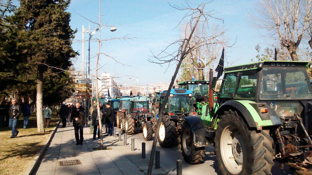 Anti-Tsipras-Protest in Griechenland: Vom Bauernheld zum Bauernfeind