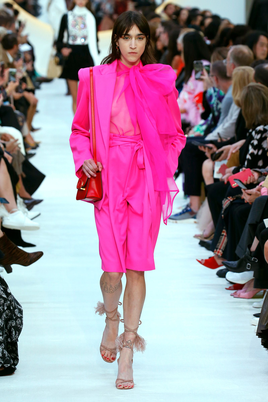 Valentino : Runway - Paris Fashion Week - Womenswear Spring Summer 2020