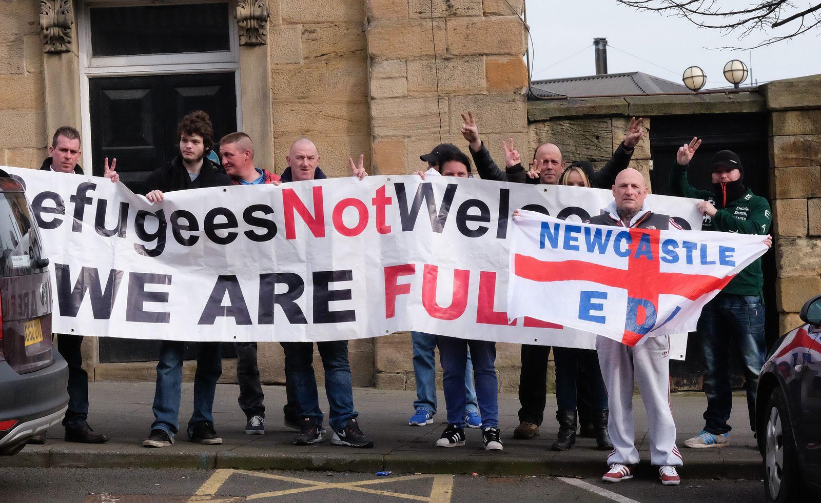 UK Anti-Immigration EDL