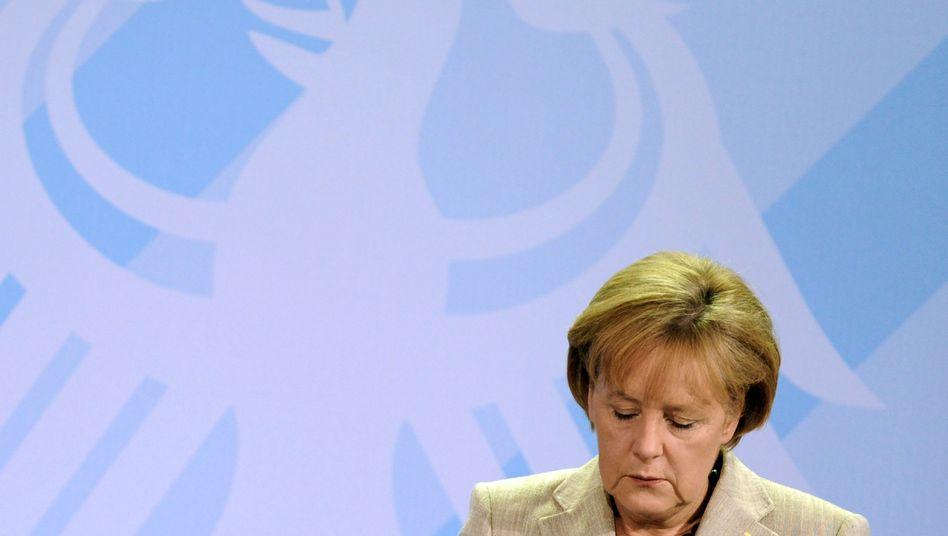 Kanzlerin Merkel: Eine eigene Währung - und dann blieb die europäische Idee stecken
