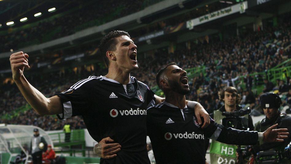 Galatasaray Gegen Besiktas Istanbul