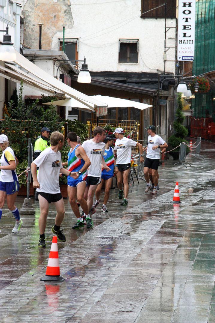 Retrorunning-WM in Italien, 2014: Hier wurde Markus Jürgens Halbmarathon-Weltmeister