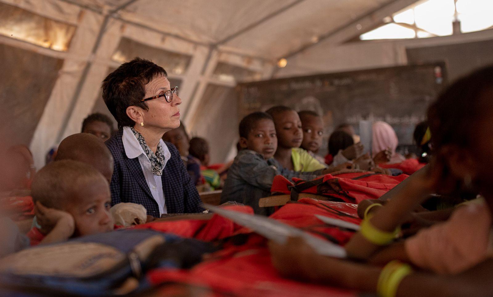 EINMALIGE VERWENDUNG Ursula Müller/ Burkina Faso